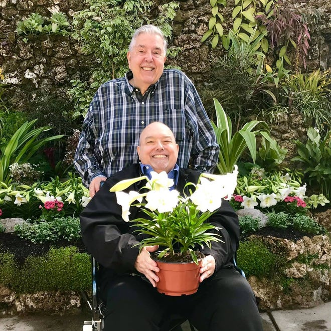 Fred Hoffman and his husband of 36 years, Jim Stokes