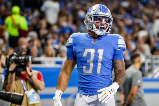 Ty Johnson will play a major role in the running game after the Lions failed to trade for a running back Tuesday.