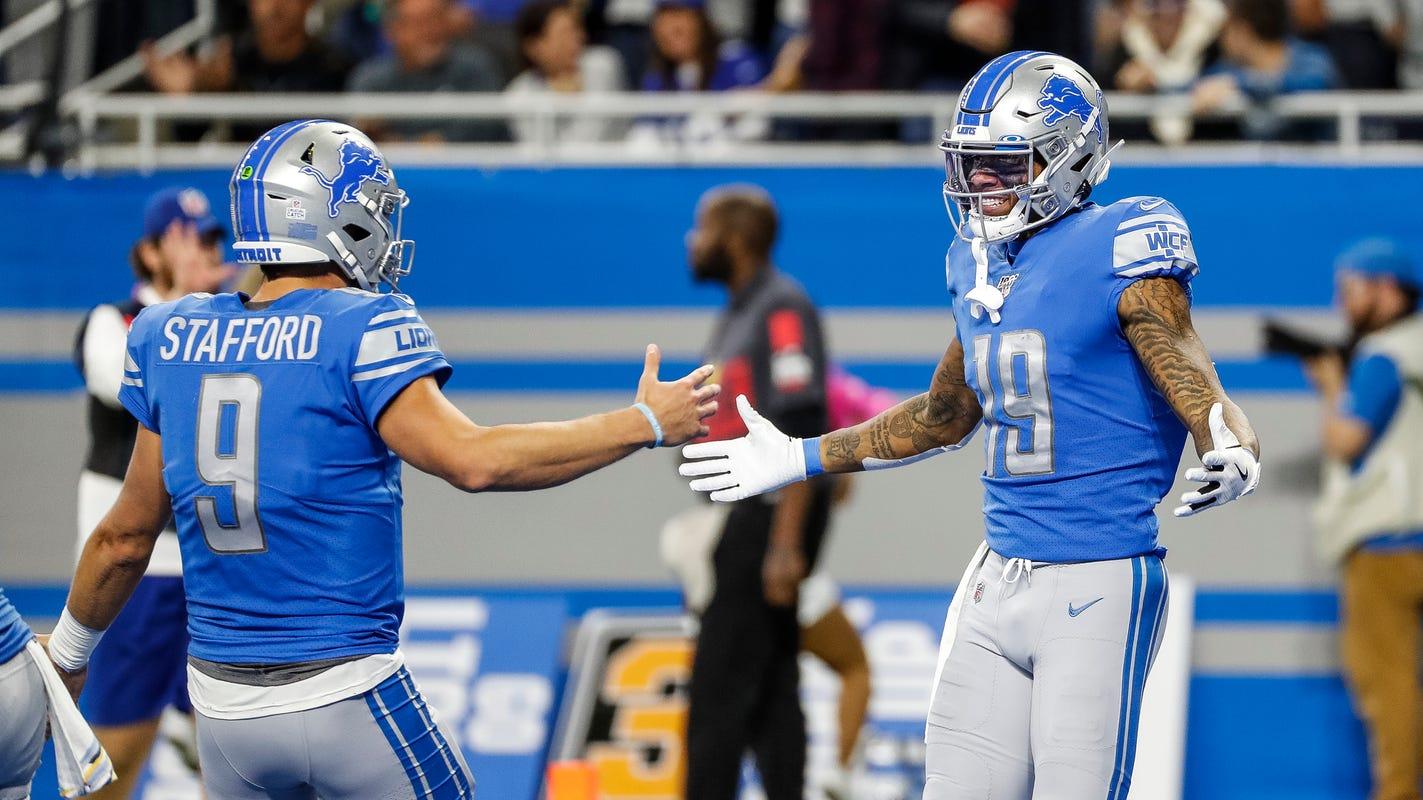 Detroit Lions' Matt Patricia: 'We're close' on having Kenny Golladay back