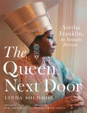 "Cover of ""The Queen Next Door,"" a collection of Aretha Franklin images by personal photographer Linda Solomon."