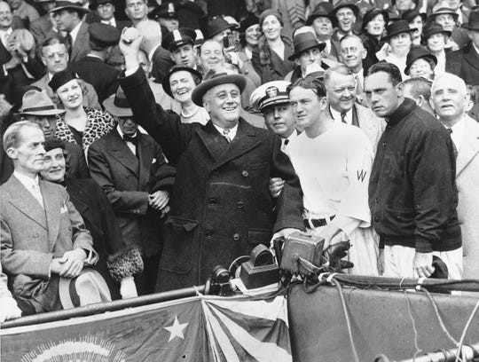 In 1942, President Franklin Roosevelt signed an executive order that allowed him to unilaterally intern around 120,000 Americans citizens of Japanese descent.