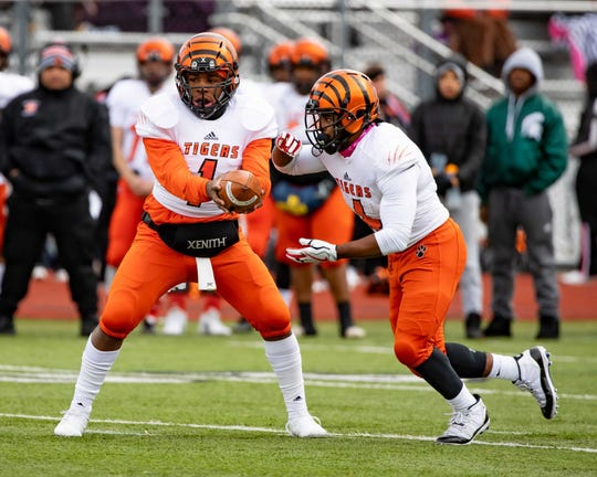 Belleville's Christian Dhue-Reid has established himself as a winner although he's still waiting for a Division I offer.