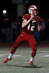 Chippewa Valley quarterback Josh Kulka