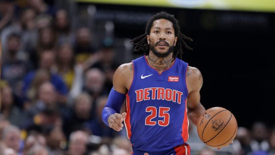Through three games, Derrick Rose is averaging 25.3 points in 26.3 minutes with the Pistons.