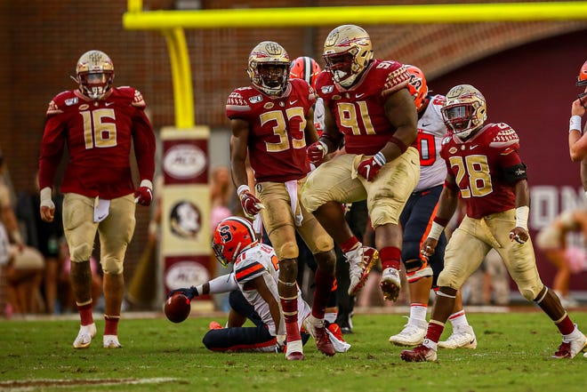 FSU held Syracuse to just three points throughout the first three quarters of Saturday's game.