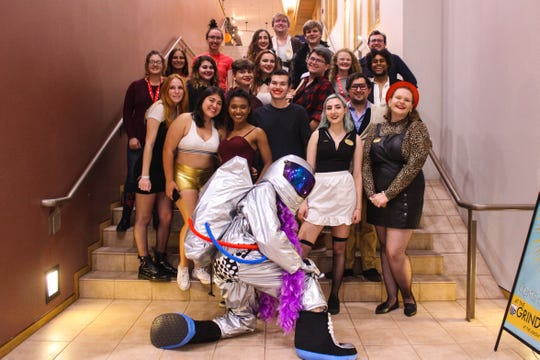 """Annual screenings of """"Rocky Horror Picture Show"""" attract all kinds of people donned in all kinds of costumes."""