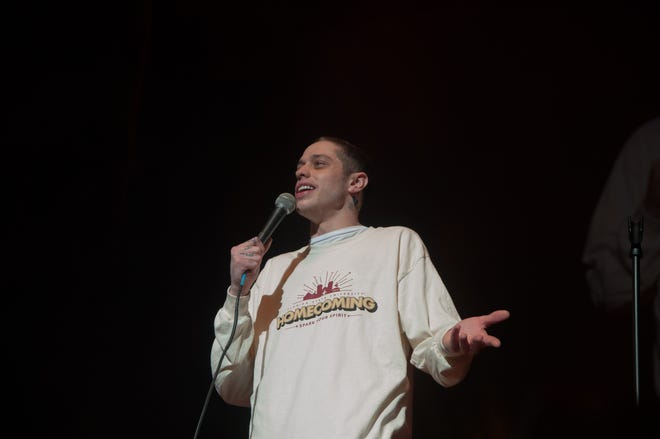 Pete Davidson repping Homecoming as he performed as headliner for Pow Wow 2019.