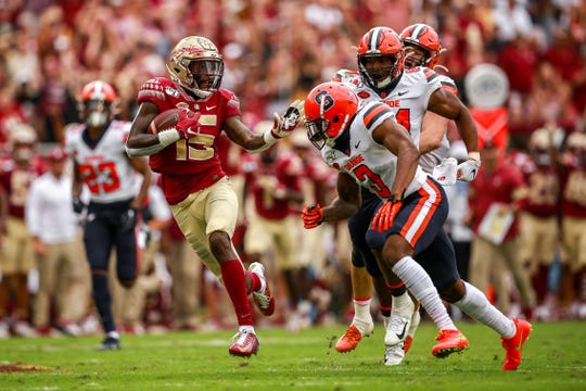 FSU's offense racked up 487 yards of offense in their win against Syracuse on Saturday.