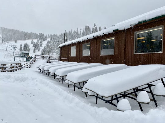 More than 16 inches of snow fell at Showdown Ski Area last week. The National Weather Service says Great Falls and northcentral Montana will receive more snow on Monday and Tuesday.