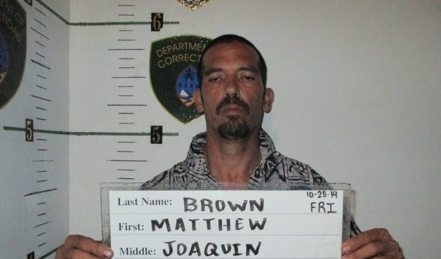 Matthew Brown is charged with one count of possession of a Schedule II controlled substance as a third degree felony.