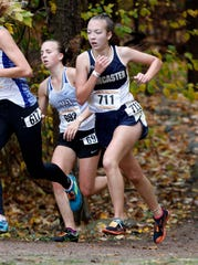 Lancaster junior Meagan Ward will compete in the Division I state cross country meet on Saturday.