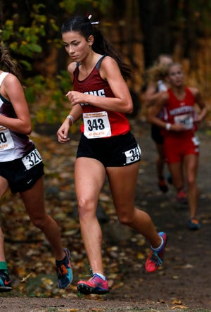 Fairfield Union senior Morgan Ruff will be making her fourth consecutive appearance in the state cross country championships on Saturday.