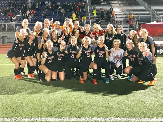 The Fairfield Union girls' soccer team won the Southeast Division II district championship after beating Chillicothe, 3-0, on Saturday at Logan High School.