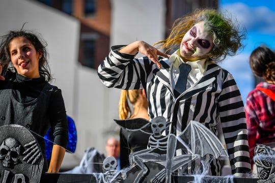 """A Tribute to 7 Decades"" York Halloween Parade, Sunday, October 27, 2019.