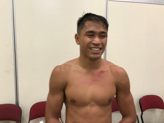 JJ Mariano won his second pro fight Saturday night.