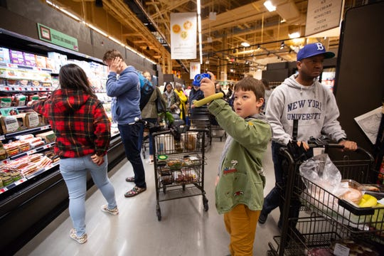 Wegmans opened its first New York City-area location on Sunday, Oct. 27, 2019. The Brooklyn Navy Yard store spans 74,000 square feet and has almost 700 parking spaces.