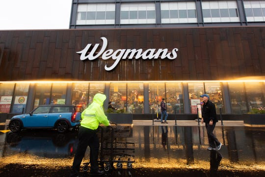Wegmans' first New York City store opened in the Brooklyn Navy Yard on Sunday, Oct. 27, 2019.