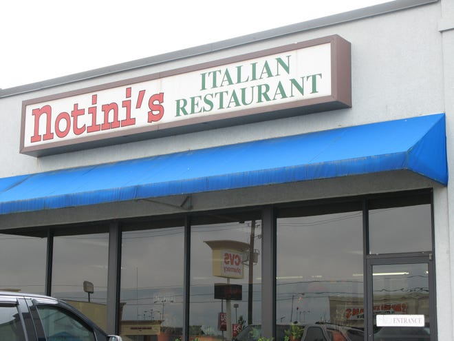 Notin's in Bossier City set to close in November.