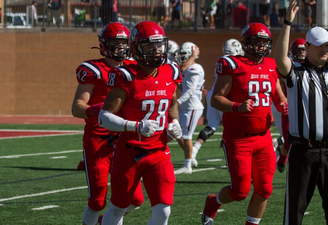 Dixie State's first Division I football season will have to wait.