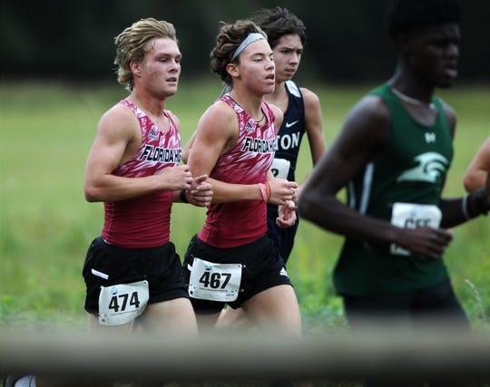 District 1-2A cross country meet at Apalachee Regional Park on Oct. 24, 2019.