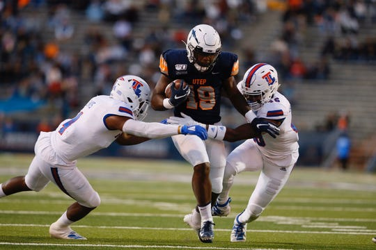 UTEP faced Louisiana Tech on Saturday, Oct. 26, 2019 at the Sun Bowl in El Paso, Texas.