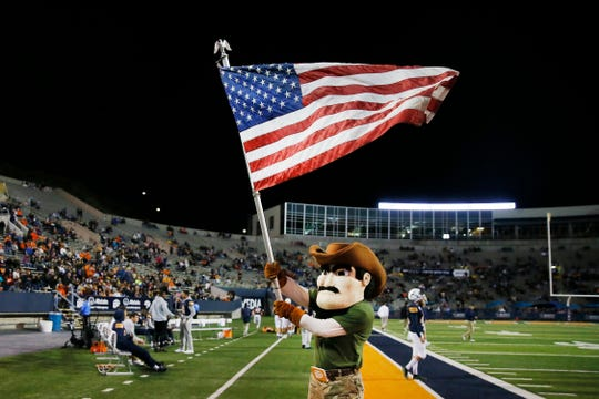 Military Appreciation Night at the UTEP vs. Louisiana Tech game Saturday, Oct. 26, at the Sun Bowl in El Paso.