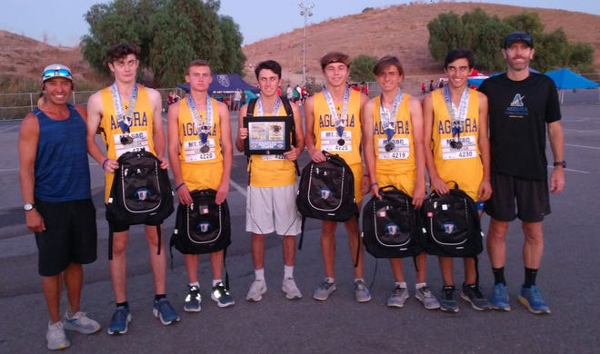 The Agoura High boys cross country team won the D3-4-5 team sweepstakes at the Mt. San Antonio College Invitational.