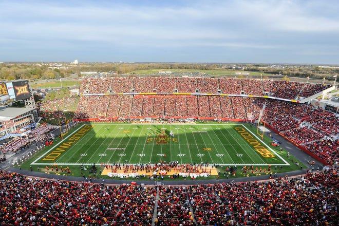 Jack Trice Stadium at Iowa State