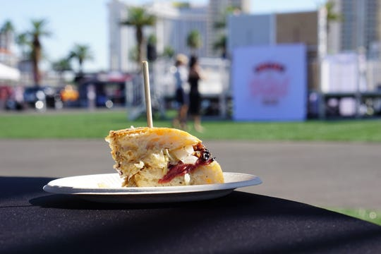 Nearly 40 restaurants served delicious dishes at the USA TODAY Wine & Food Experience in Las Vegas, hosted by MGM Resorts International at the Las Vegas Festival Grounds, on Oct. 26, 2019.