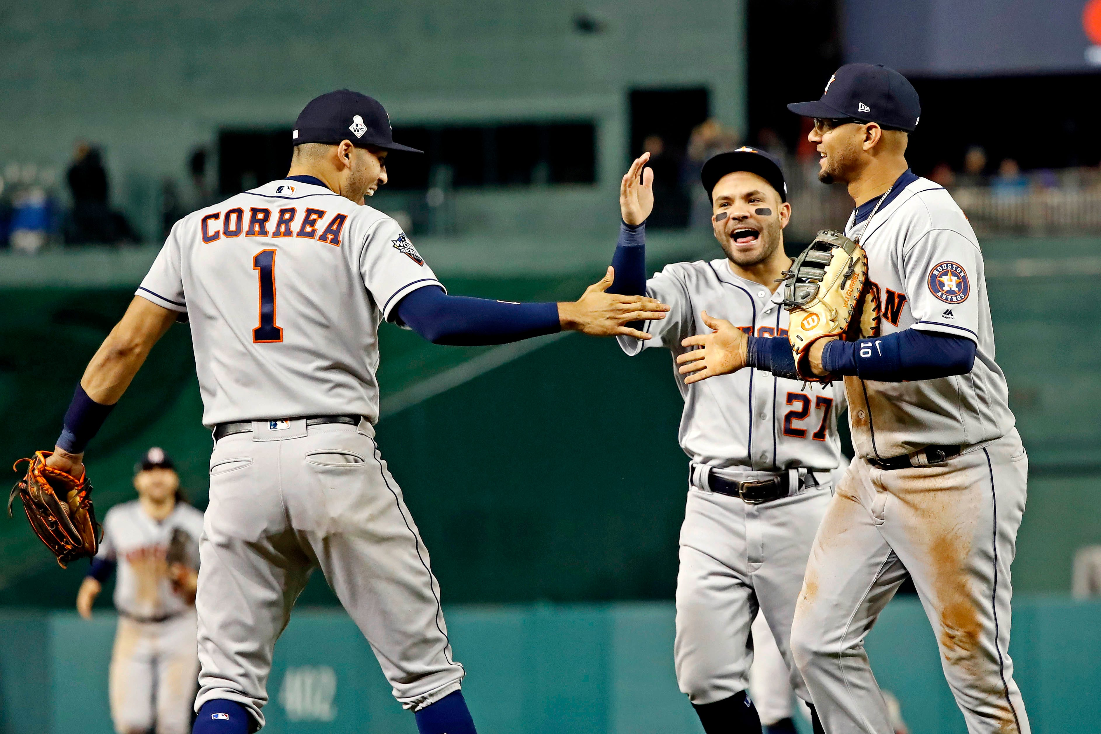Astros Game >> World Series Astros Carlos Correa Says Swagger Is Back