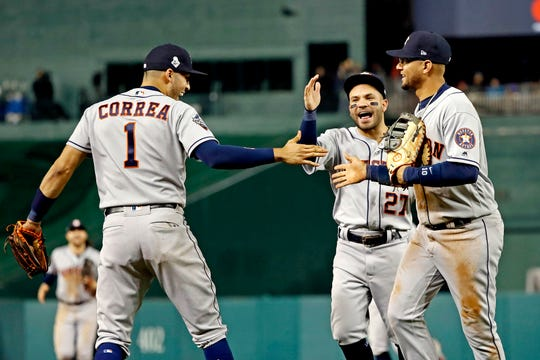 Westlake Legal Group 5d030a8b-e7d3-4fe4-95d9-ded8b408964c-USATSI_13577209 'We got our swagger back:' World Series is tied, but it's clear the Astros have taken control