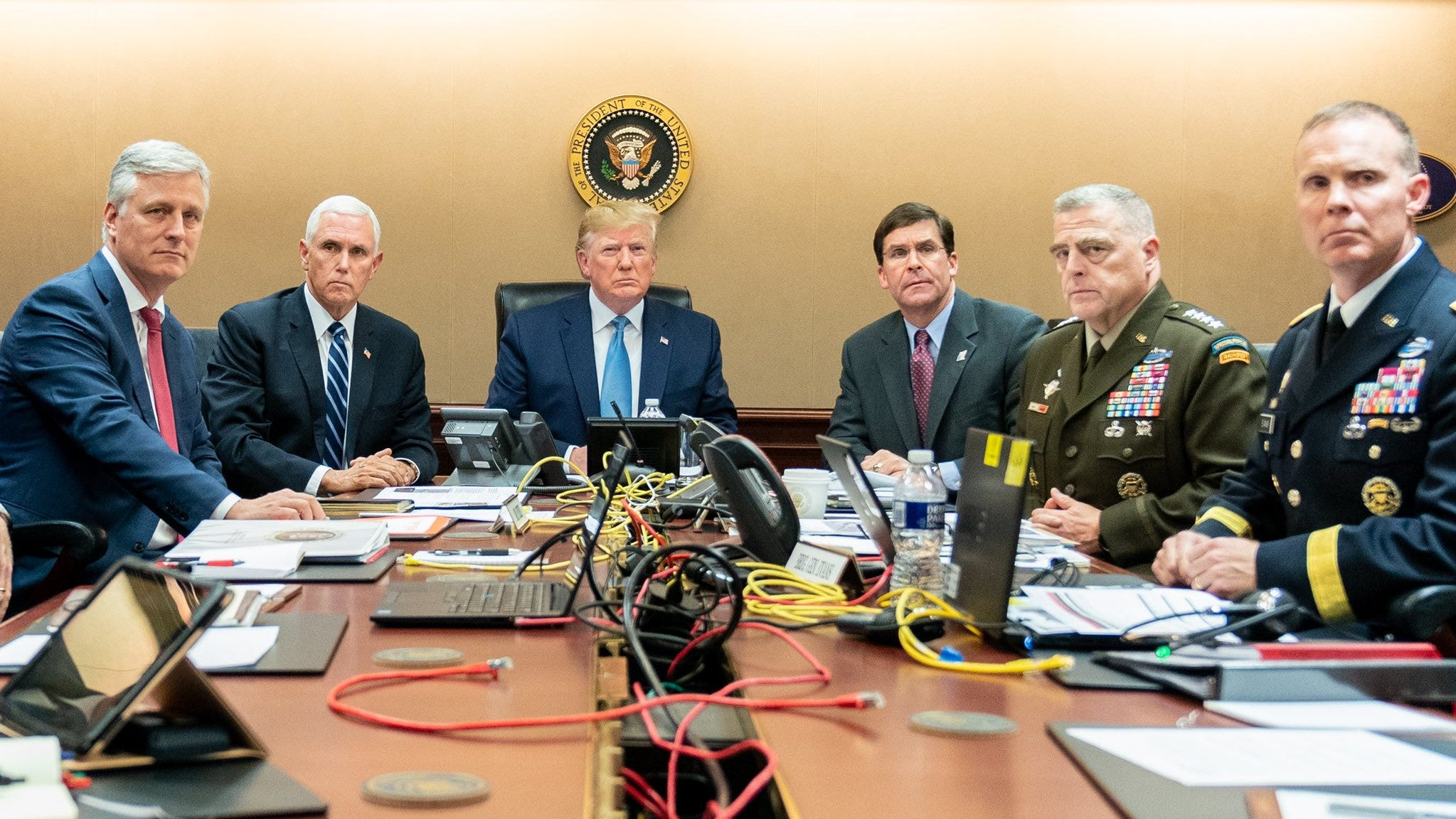 Image result for trump situation room
