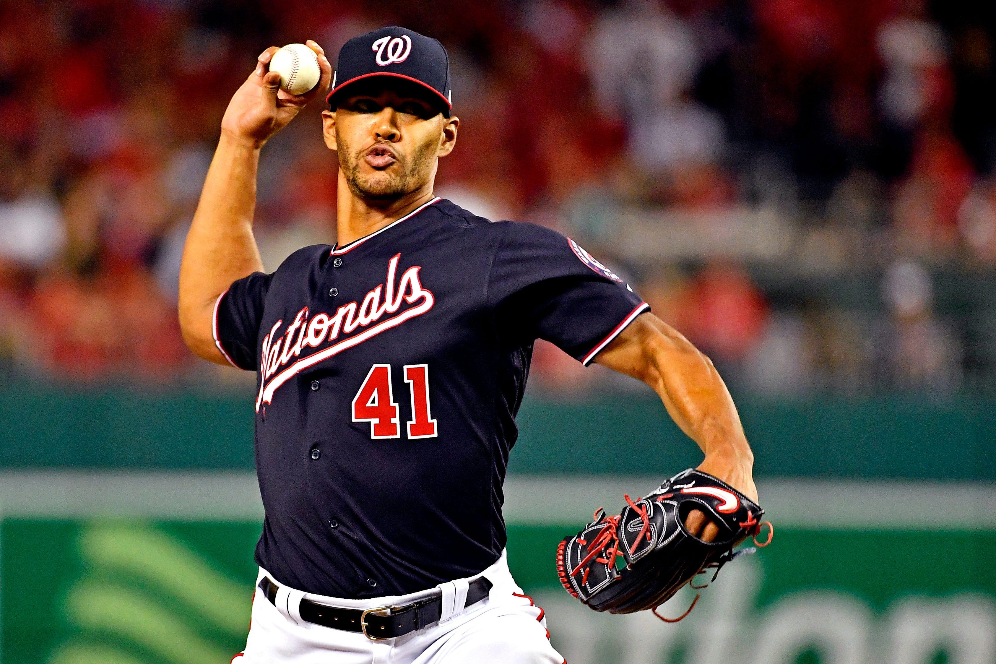 Joe Ross: Washington Nationals pitcher starts in place of Max Scherzer