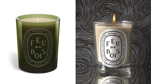 Best coworker gifts 2020: Diptyque Feu de Bois Candle