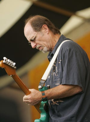 Little Feat guitarist Paul Barrere performs in New Orleans in 2006.