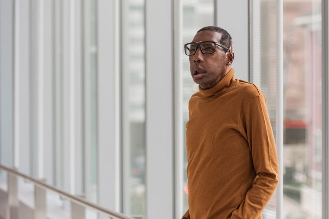 Robert Chelsea, seen here with his new face, is the first African American to receive a full face transplant.