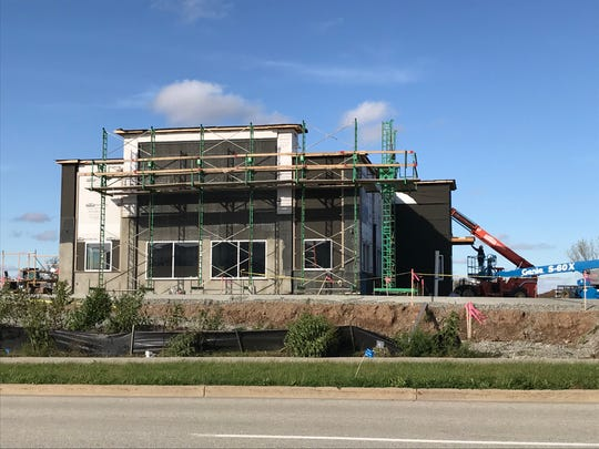 Culver's is under construction north of Meijer in Grand Chute.