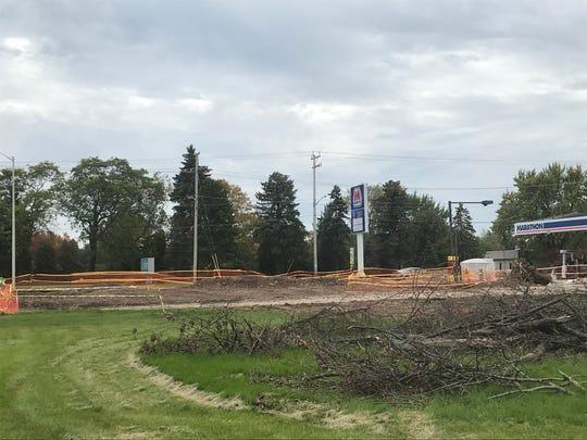 Corner of Ballard Road and E. Wisconsin Avenue in Appleton