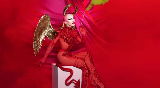 """Drag superstar Sasha Velour brings the """"Smoke and Mirrors"""" tour to the Merriam Theater in Philadelphia on Nov. 12 and the Paramount Theatre in Asbury Park on Nov. 15."""