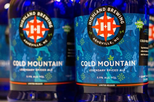Cold Mountain's refreshed holiday label.
