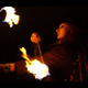 Watch fire spinning and flow performances at Burlington Burn Club's last get together of the season on Thursday. Oct. 24, 2019.
