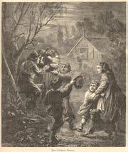 """The Pumpkin Effigy,"" from Harper's Weekly, November 23, 1867."