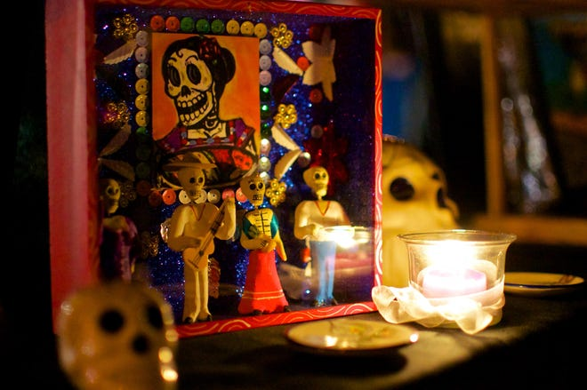 New York's Day of the Dead celebration.