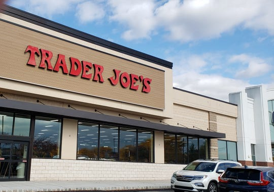 Trader Joe's is getting ready to open in the Bridgewater Promenade next to Old Navy.