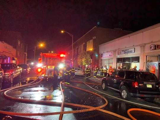 The cause of the Sunday night fire that heavily damaged six stores is under investigation.