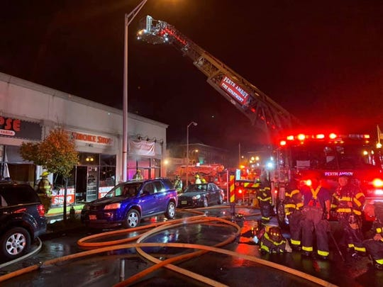 A Madison Avenue commercial building was left uninhabitable by a fire Sunday night.