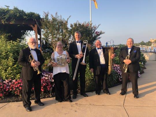 Navesink Brass Quintet.