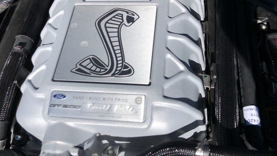 Every GT500 engine is signed by the person who built it.