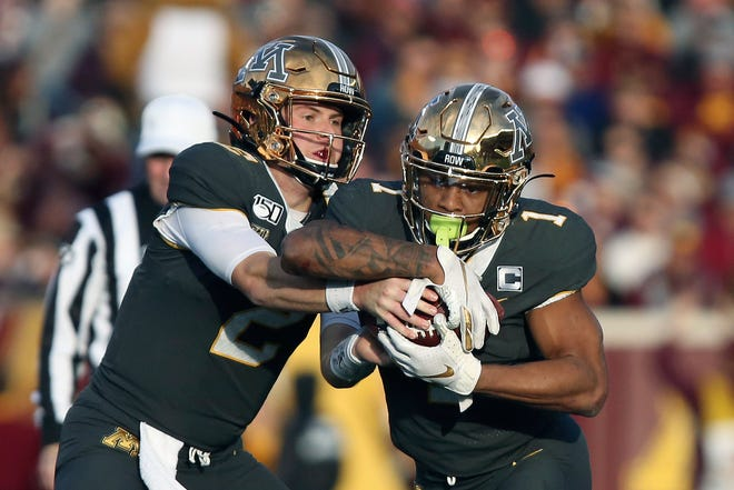 17. Minnesota (8-0)   Last game: Defeated Maryland, 52-10   Previous ranking: 24.