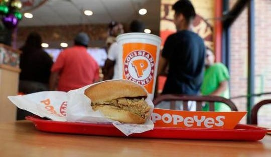 Popeyes is hoping the chicken sandwich will bring in more customers amid fierce fast-food competition.